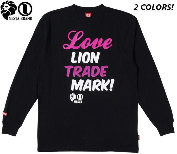 "【NESTA BRAND】【ネスタブランド】ロングTシャツ ""LOVE LTM"" ブラック・ホワイト XS-2XL【ロンT】【ラスタ】【レゲエ】【ライオン】【lion】【Rasta】【長そで】【長袖】【黒】【black】【ロングスリーブ】【tshirts】【LS1207H】【あす楽】【楽天市場】"