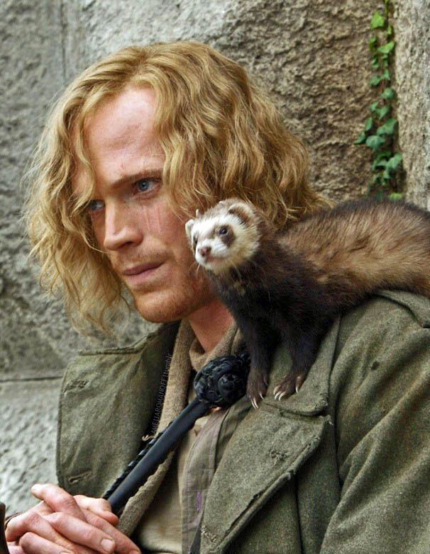 Dustfinger - Paul Bettany in Inkheart (2008).