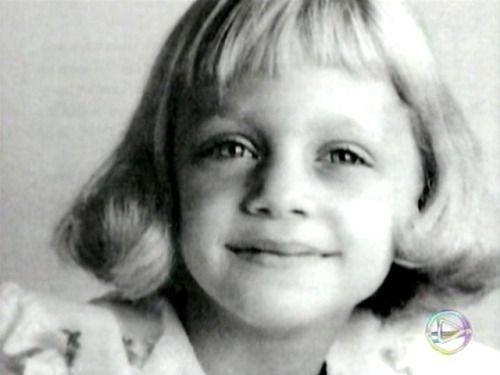 Goldie Hawn childhood photo