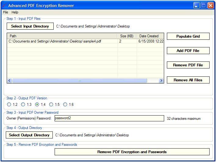 pdf restriction remover full version