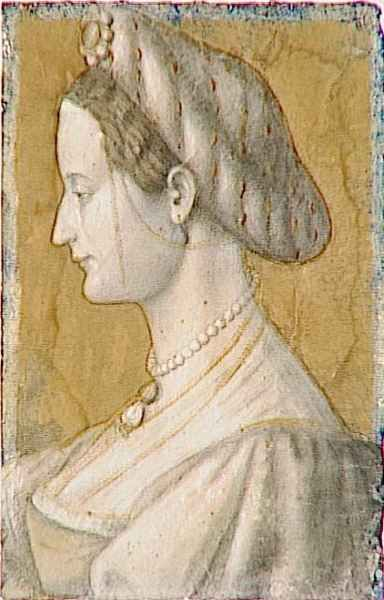 Isabella of Naples,Duchess of Milan by Giovanni Antonio Boltraffio (1467-1516)