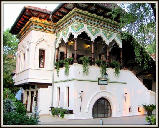 Casa Doina Bucharest Romania, construita in 1892 de faimosul arhitect roman Ion Mincu.