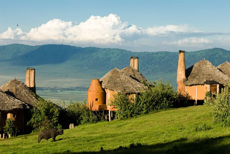 top ten hotels and resorts of 2013 - ngorongoro crater lodge by andbeyond in tanzania