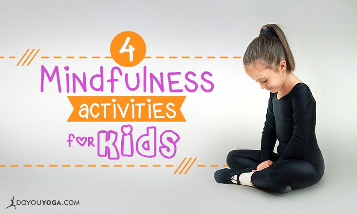 Help your kids stay calm and #stress-free; teach them #mindfulness using these…