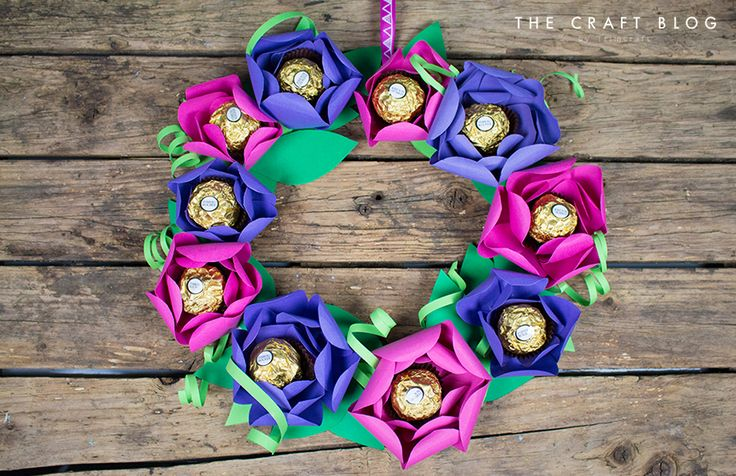 Colourful DIY Spring Paper Flower W... | The Craft Blog