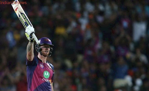 Ben Stokes, most expensive player of IPL 10, smashes 61-ball hundred for RPS