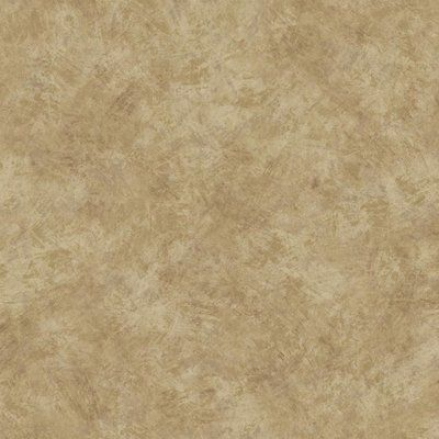"York Wallcoverings Texture Portfolio Brushstroke 27' x 27"" Solid Smooth Wallpaper Color: Cream/Cocoa/Tan"