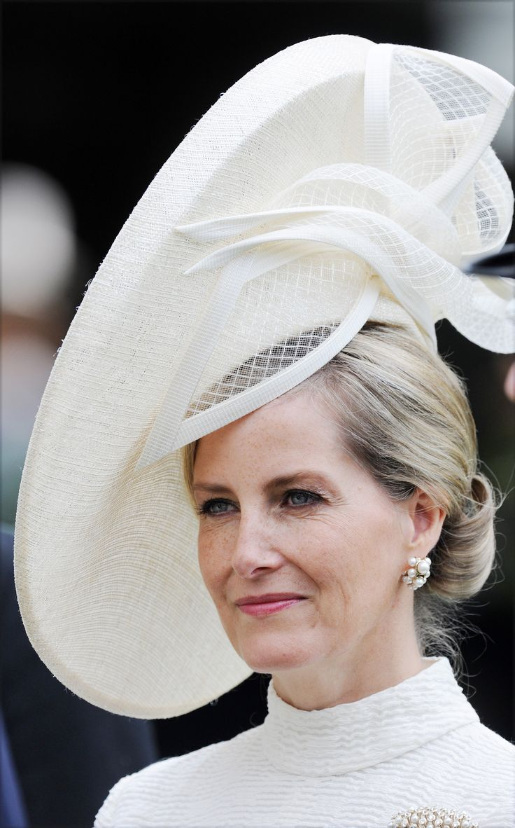 The Countess of Wessex in her stunning hat from Jane Taylor at Royal Ascot 2015.