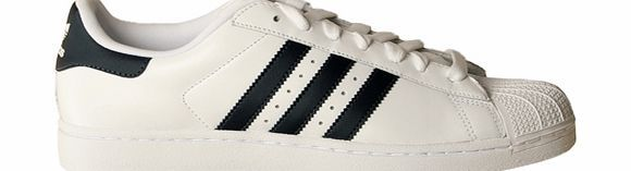 Adidas Superstar II White/Navy Leather Trainers Adidas Superstar II White/Navy Trainers Colourway