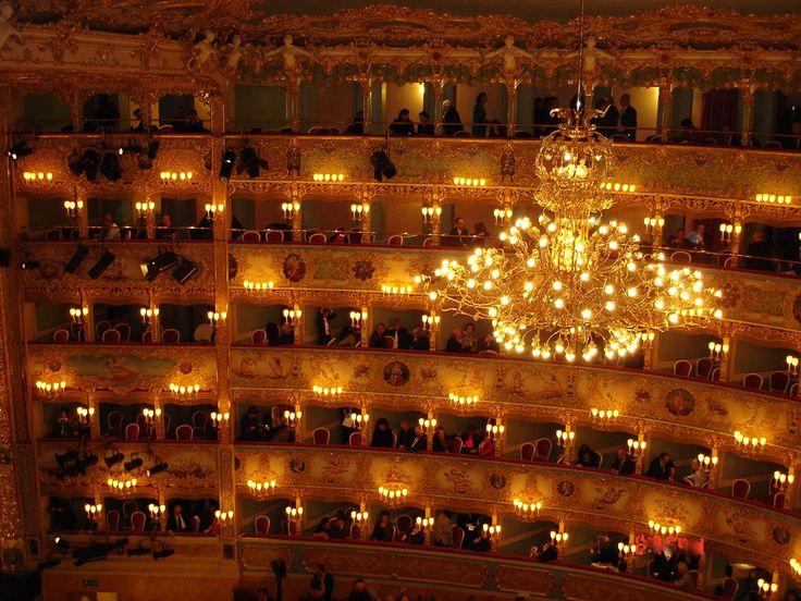 Teatro La Fenice, Venice Photo: ©Lillemor Brink