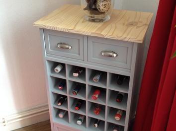Meuble/Bar range bouteilles en bois creation,bricolage,Rangement,DIY,meuble,bar,bouteille,Alcool,Range,Range bouteilles