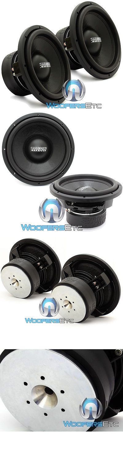 Car Subwoofers: (2) Sundown Audio Sa-12 D2 Rev.3 Subs 12 750W Dual 2-Ohm Subwoofers Speakers -> BUY IT NOW ONLY: $429.99 on eBay!