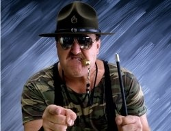 Who can forget Sgt. Slaughter? Yo Joe!