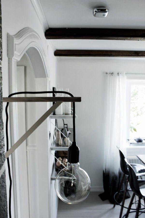 Koket Gardiner : koket gardiner  gardiner, svarta och vita gardiner, kokso