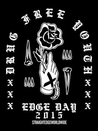 That would be cool for a straight edge tattoo