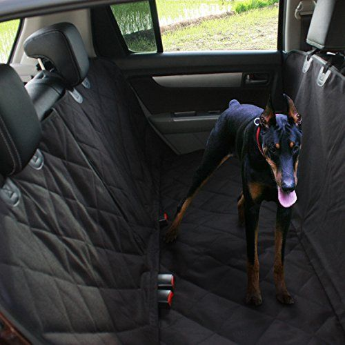 Couvertures de protection de voiture, Uvistar Housse de Siège Auto pour Chien et Chat Couverture Souple Étanches et Anti-dérapant Hamac…