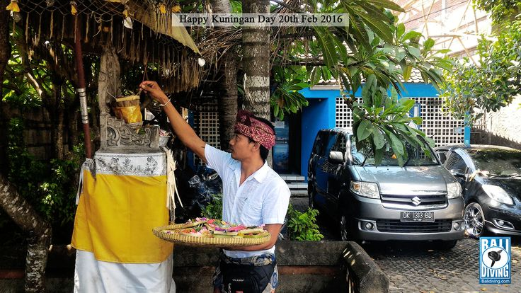 HAPPY KUNINGAN DAY - #balidivingteam #happykuninganday #tumpekkuningan #balineseculture #theholyceremony #bali #indonesia www.balidiving.com