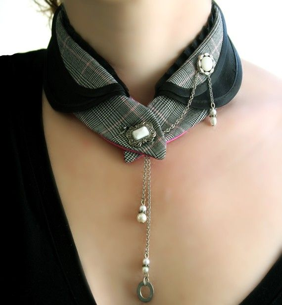 Fabric collar - DIY Idea