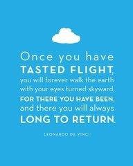 For the taste of flight