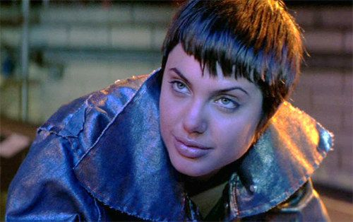 Angelina Jolie as a kickass, tough as nails hacker | Hackers = Awesome Cyberpunk Movie Night