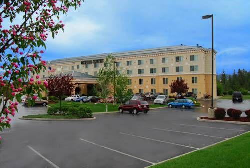 Cheap Hotels in Spokane (Washington)  Oxford Suites Spokane Valley Hotel