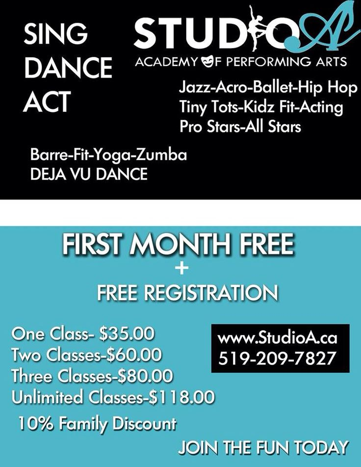 Sing Dance Act Fitness