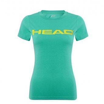 HEAD Lucy II T-Shirt Women Green http://www.headstore.cz/HEAD-Lucy-II-T-Shirt-Women-Green