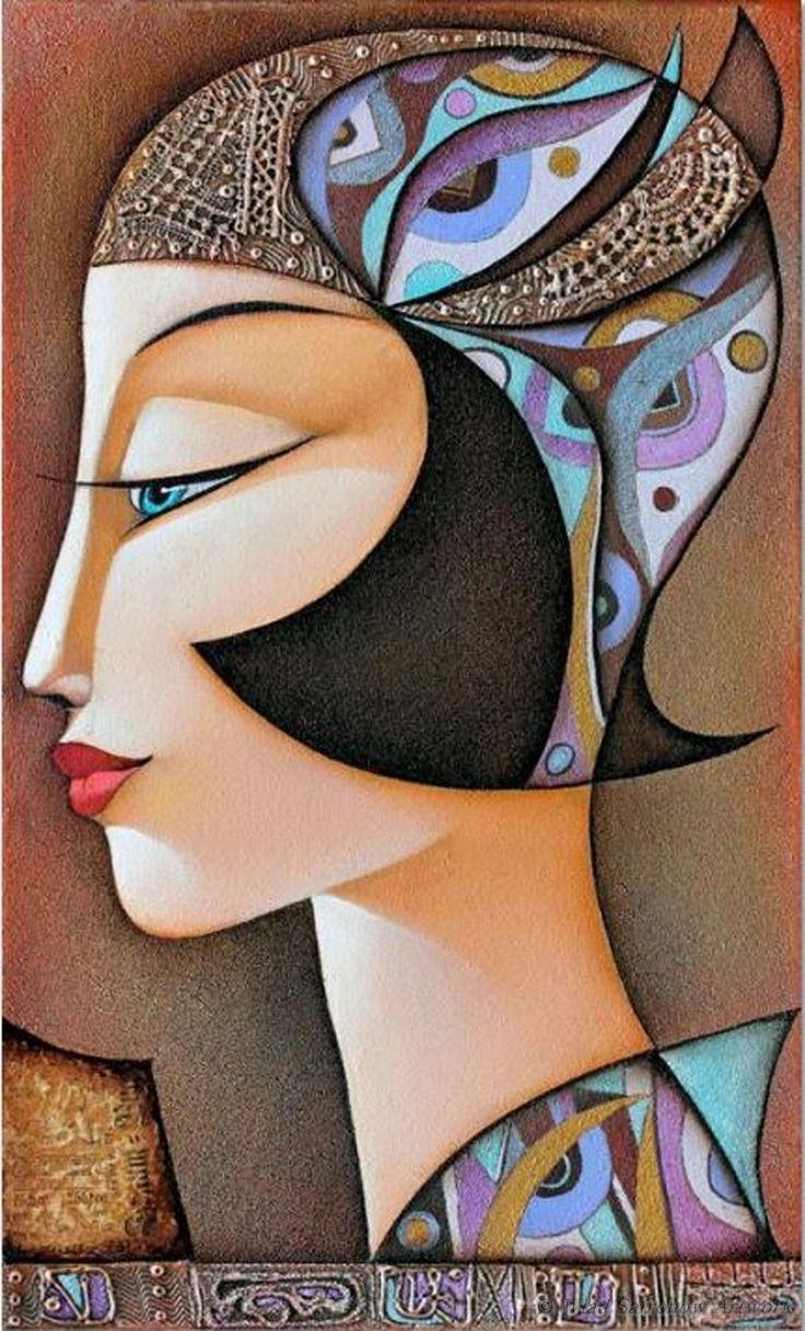 Nostalgie II by Wlad Safronow. (Oil Canvas)