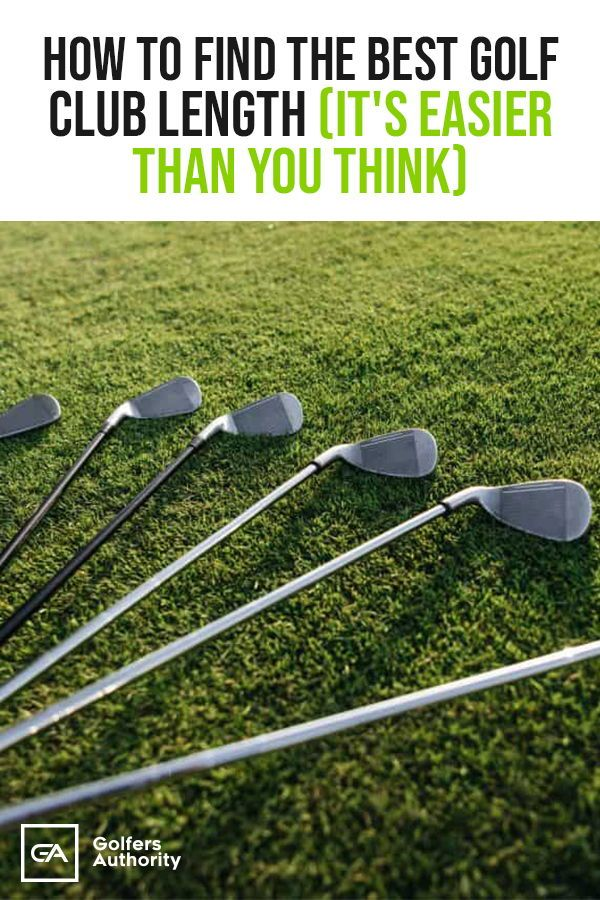 The Ultimate Guide On How To Measure Golf Club Length With Chart Golfers Authority Golf Clubs Golf Tips For Beginners Best Golf Clubs