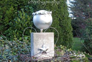DIY: XXL Engel aus Beton * concrete angel