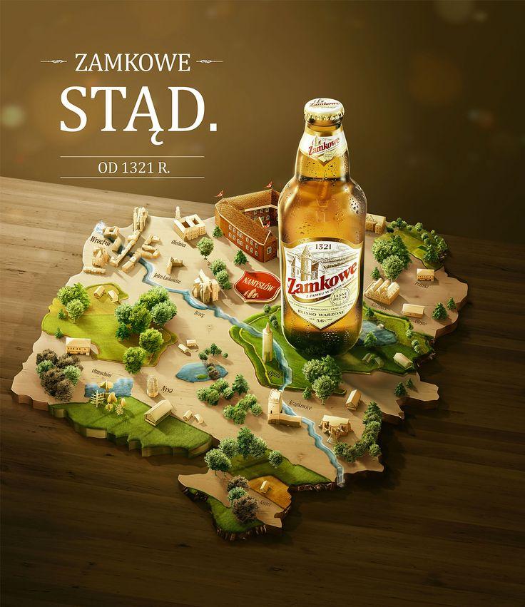 Zamkowe Beer campaign 2015-2017 on Behance