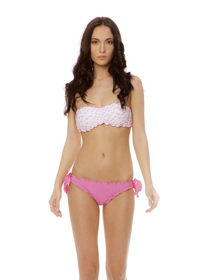 FLAMINGO FASCIA PINK #paradisebeachwear #bikini #beachwear #style #fashion #sun #sea #beach #fun #love #friends #woman #apparel #summer #flamingo #fenicotteri #pink #rosa #flamingos