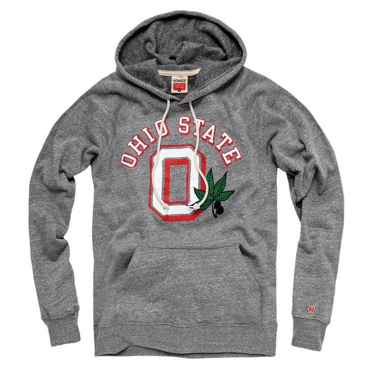 HOMAGE Ohio State Buckeye Leaf Hoodie Fleece Sweatshirt - $65.00  OHIO UNDEFEATED !