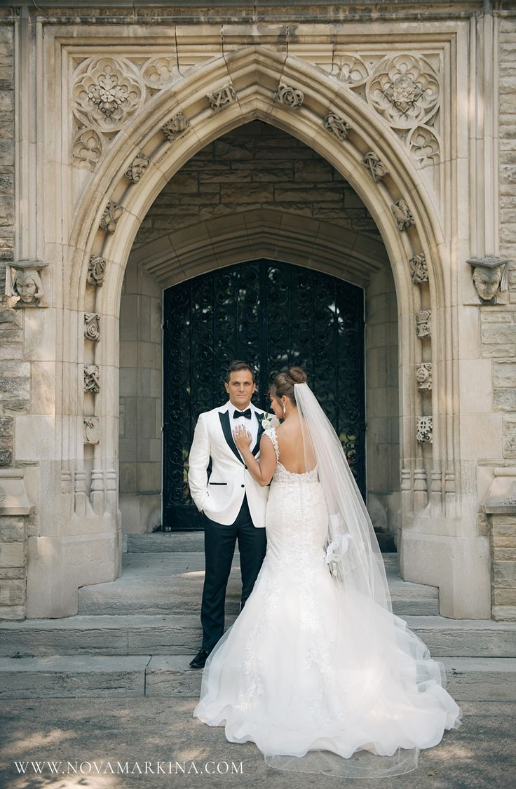 Beautiful Bride and Stoic Groom || Wedding Photography Inspiration || NovaMarkina Photography || See more of this Liuna Station Wedding here: http://www.novamarkina.com/blog/liuna-station-wedding-photography-k-a