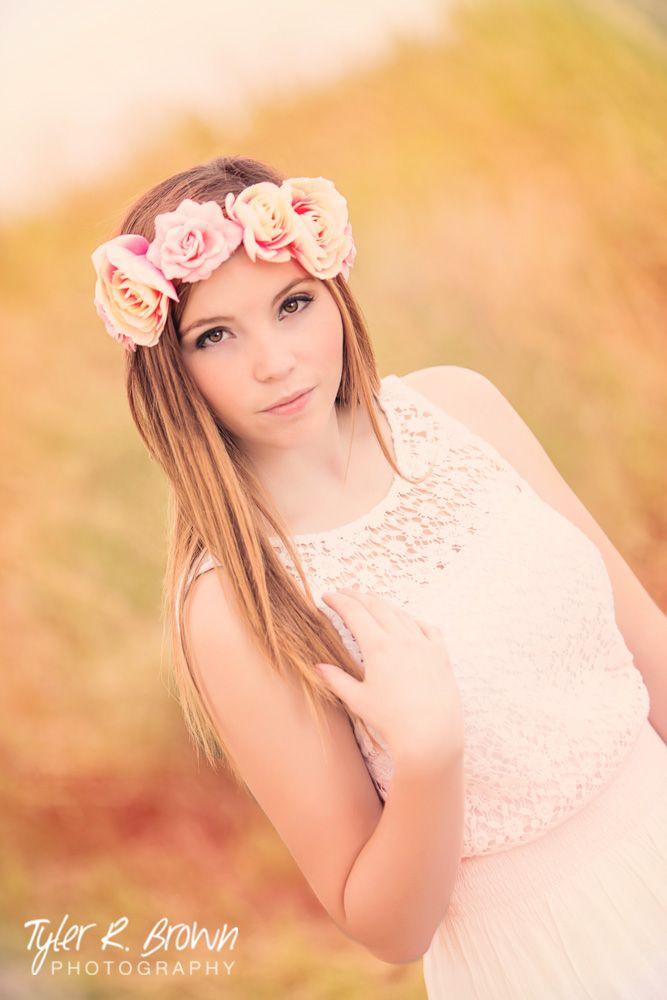 Makenna Kinnamon - Class of 2015 - Lone Star High School - #seniorportraits - Senior Pictures - Senior Portraits - Senior Photos - Arbor Hills Nature Preserve - Plano - Texas - Flower Child - Hair and Makeup - @ehamlive - Tyler R. Brown Photography