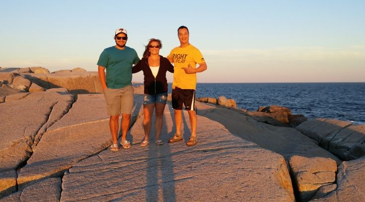 Awesome Family - Peggy's Cove