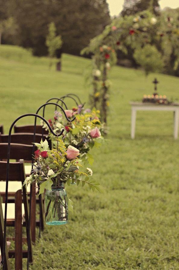 wedding isle decoration
