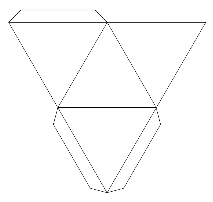 Pyramid box template techniques and how to pinterest