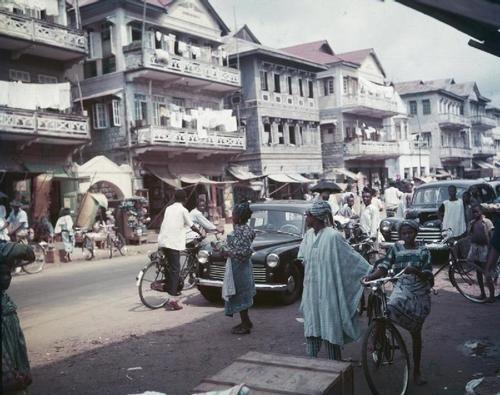 Lagos, Nigeria.   1945-1975