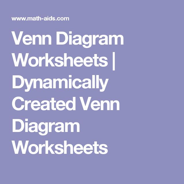 P90x Worksheets Word Best  Venn Diagram Worksheet Ideas On Pinterest  Venn Diagram  Past Continuous Worksheets Pdf with Part Part Whole Worksheets Excel These Venn Diagram Worksheets Are Great For Testing Students On Set Theory  And Working With Venn Diagram Printable Tangram Puzzles Worksheets Pdf