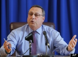 Paul LePage, Maine Governor, Blasts Obamacare, Calls IRS 'The New Gestapo'