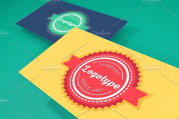 Simple Label Template by barsrsind on @creativemarket