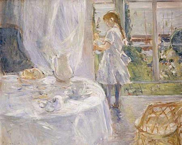 Berthe Morisot >> コテージの内部
