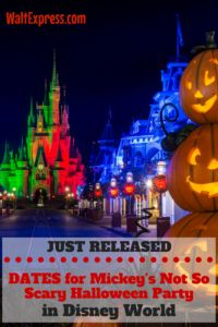 Disney Releases 2017 Dates for Mickey's Halloween and Christmas Party at Magic Kingdom, Disney World