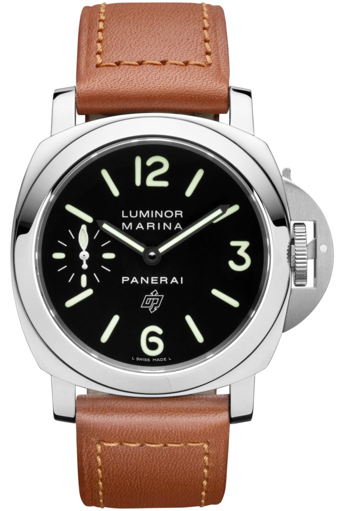 Luminor Marina Logo Acciaio 44mm PAM00005 Collection Officine Panerai Watches