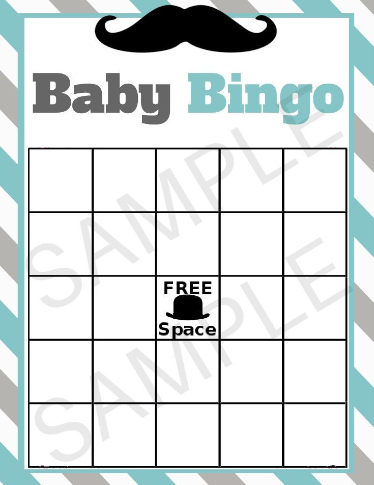 Mustache Little Man Baby Shower Printable Games In 2019 Baby