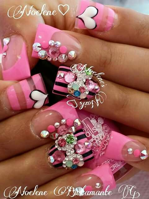 The 22 best images about hw nil on pinterest acrylic noelenes nails prinsesfo Images