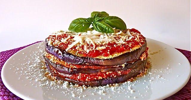 Parmigiana fredda con ricotta salata alla siciliana (alla norma)