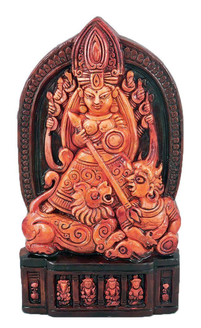 Mahishasuramardini Durga (Terracotta)