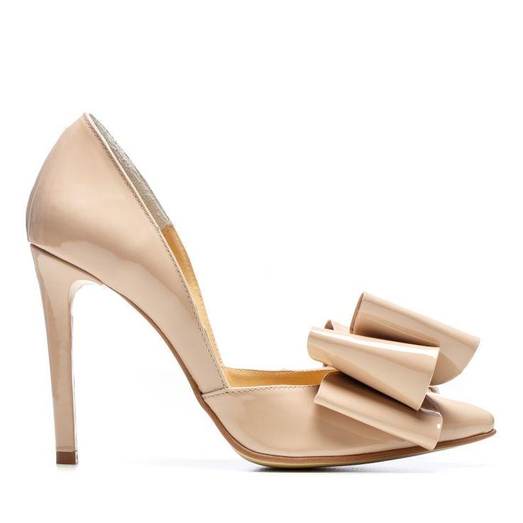 NUDE Stiletto shoes - romanian designers SHOP ONLINE
